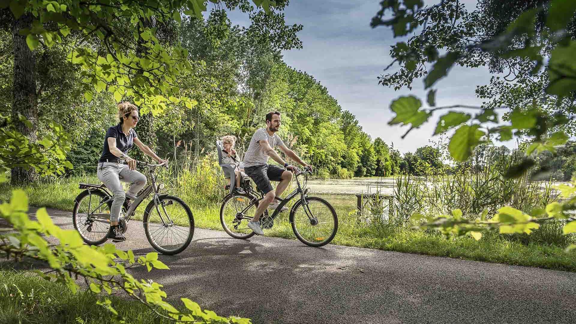 The Indre à vélo route