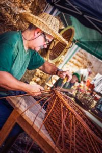 Basketweaver - Villaines-les-Rochers - Loire Valley, France