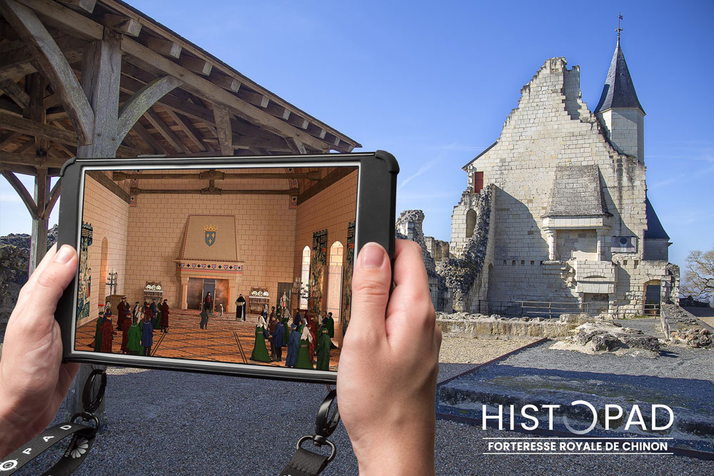 In the footsteps of Joan of Arc with the Histopad!