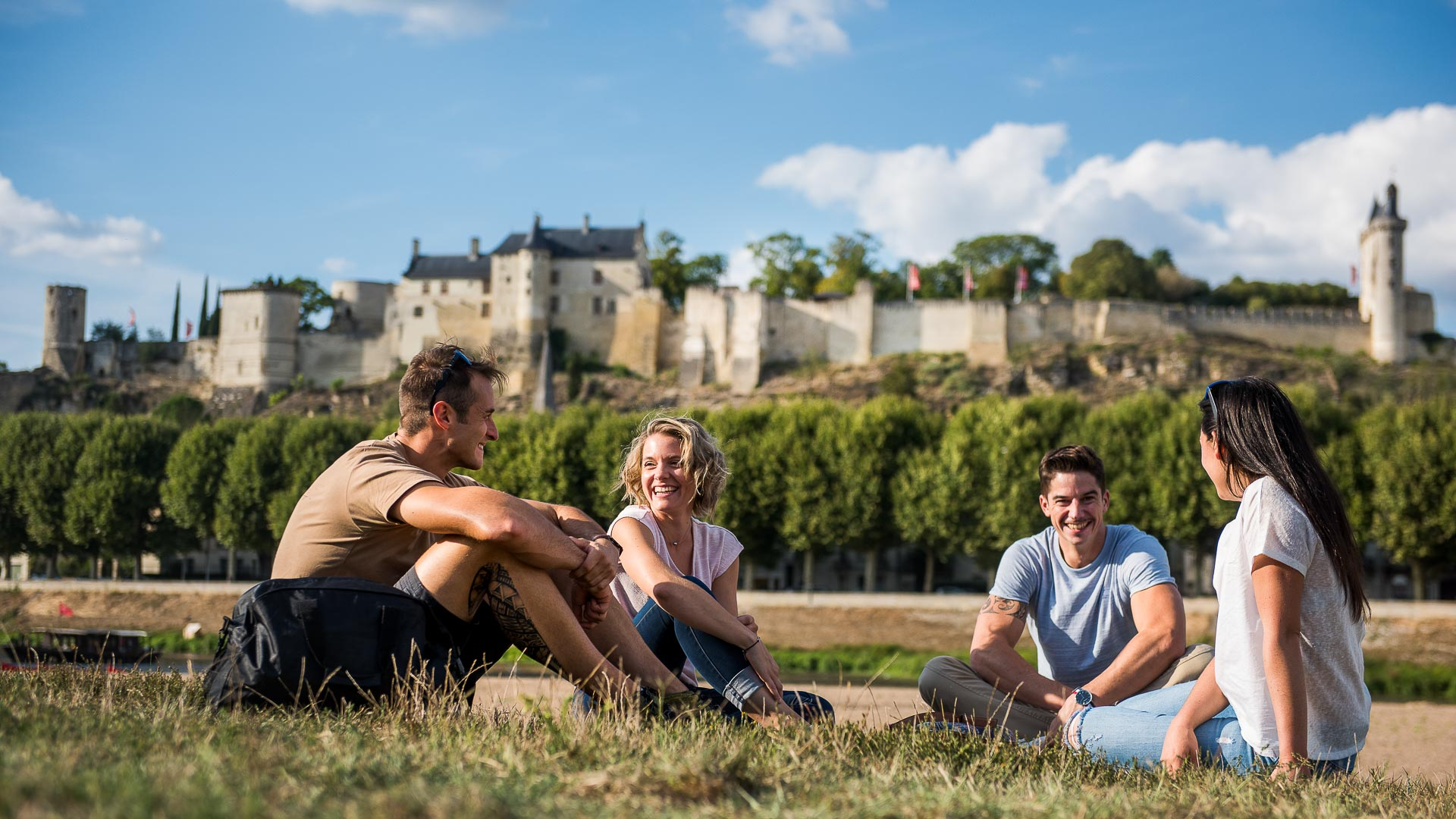 Loire Châteaux - Royal Fortress of Chinon