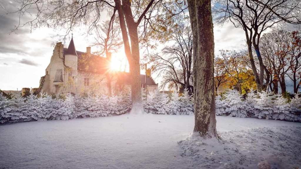 Chinon (France) - Christmas in the land of chateaux