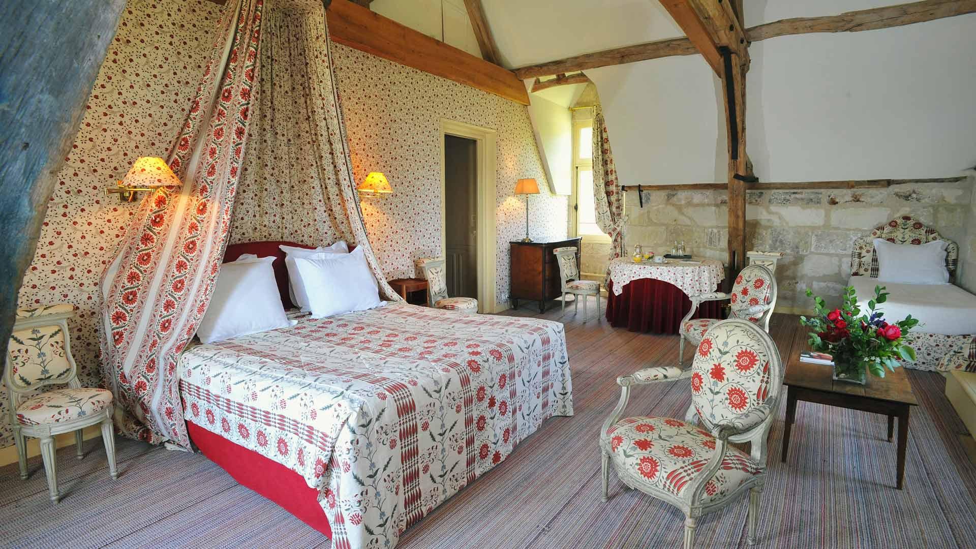 La Bourdaisière hotel - Sleeping in a garden
