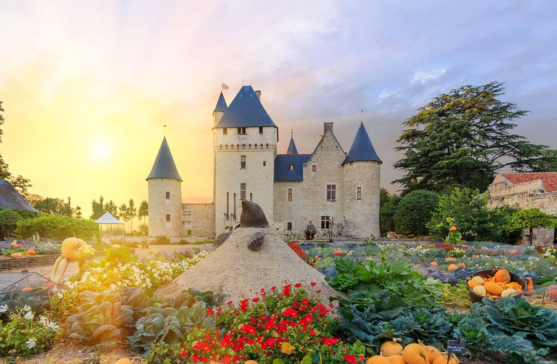 Biodiversity in the garden of La Bourdaisière - Loire Valley