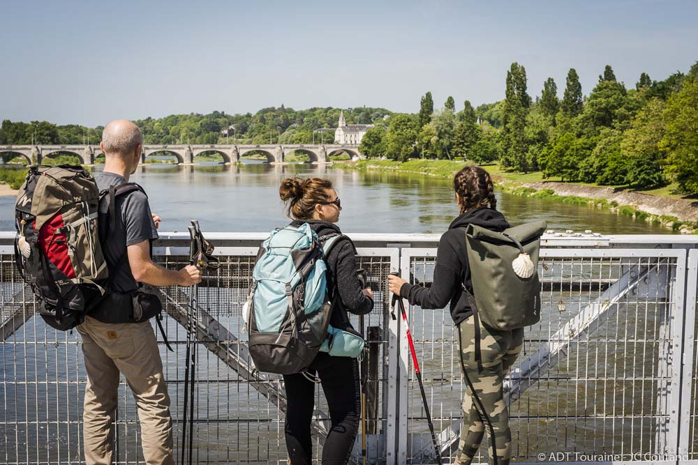 Tours on the River Loire.