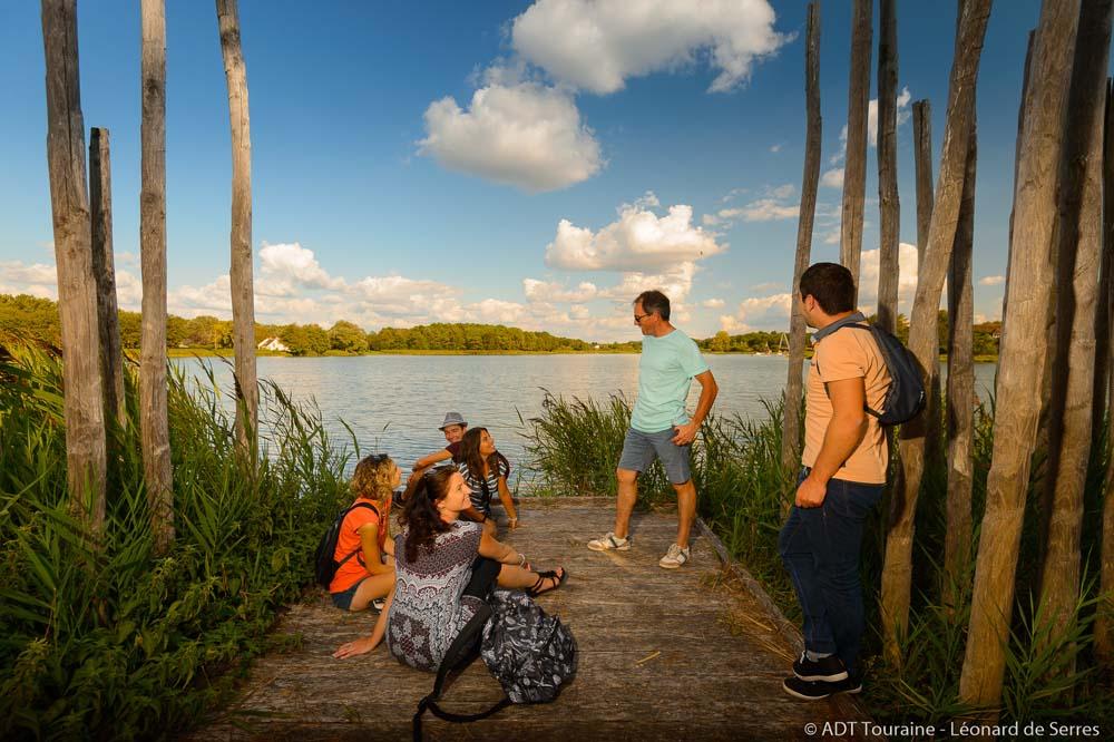 Lake Rillé, a sociable spot!