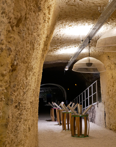 Caves Duhard - Wine cellar in Amboise, Loire Valley, France.