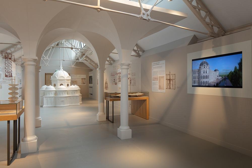 View of the Leonardo da Vinci and his architecture gallery