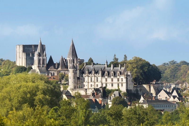 The Royal city of Loches