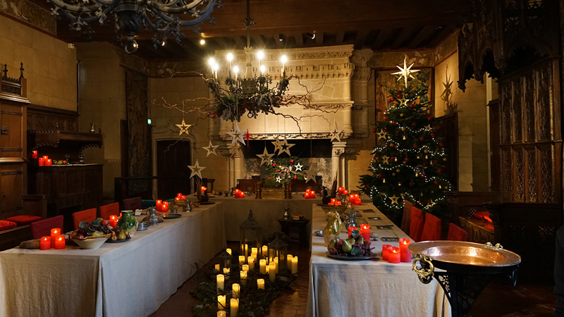 Langeais (France) – Christmas in the land of chateaux