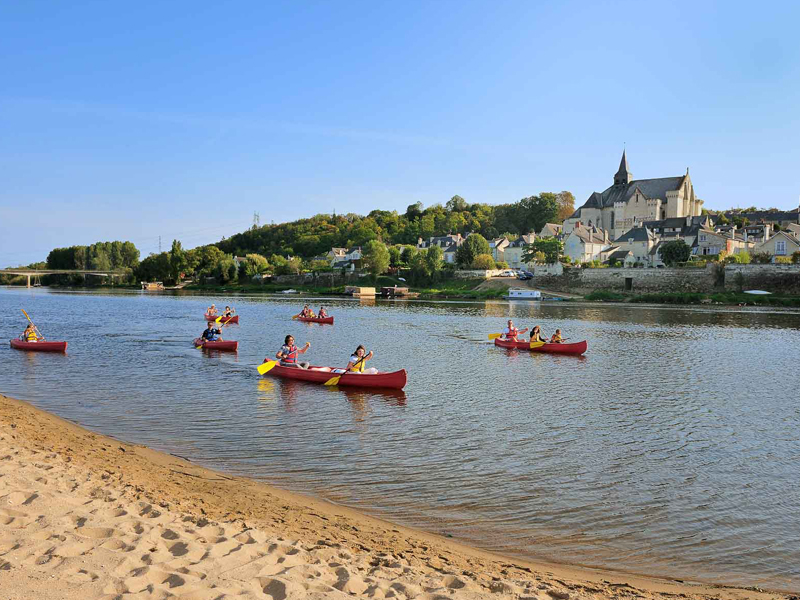 Canoeing on the Loire - Candes-Saint-Martin
