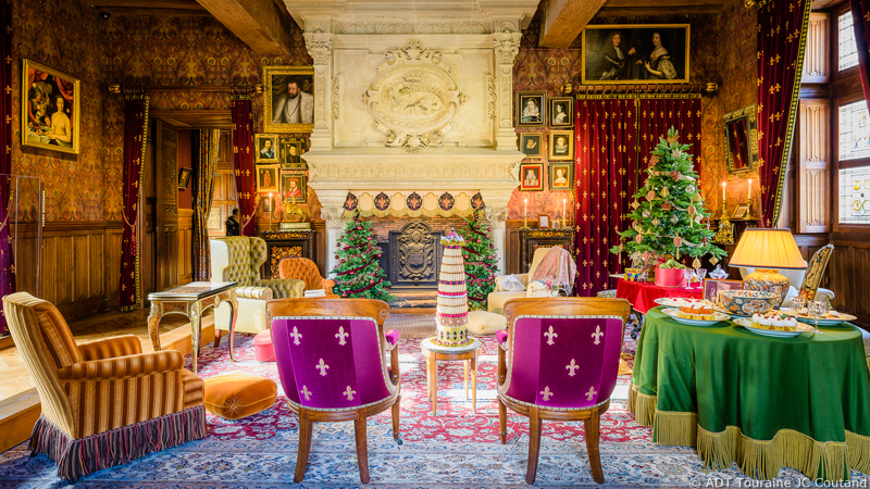 Christmas in the land of Chateaux - Azay-le-Rideau