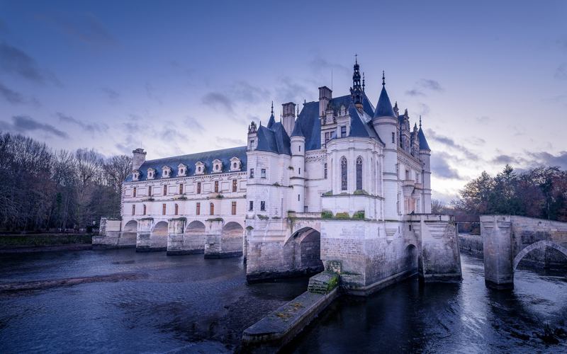 Christmas in the land of Chateaux - Chenonceau