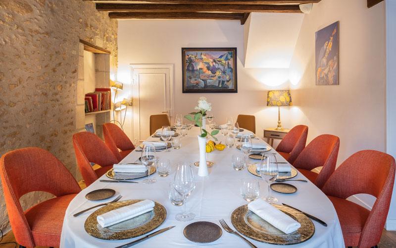 L'Auberge du Bon Laboureur, a gourmet restaurant