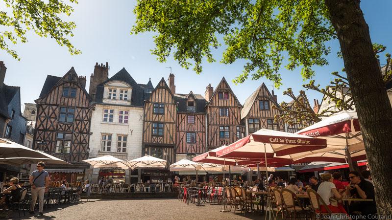 Place Plumereau, Tours - Loire Valley, France