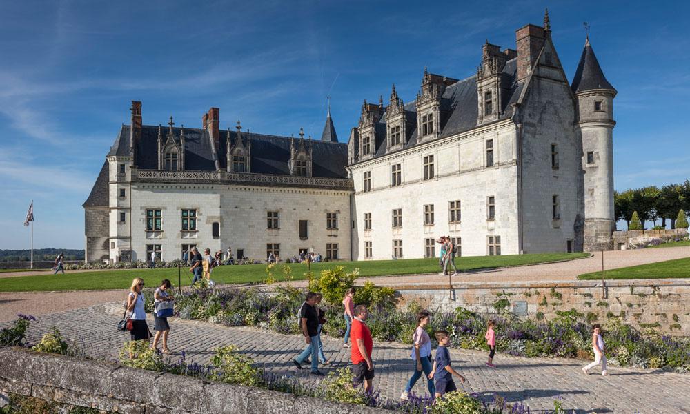 Château royal d'Amboise grounds - Touraine, Loire Valley