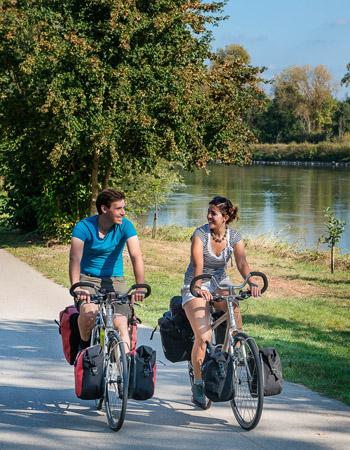 Loire à vélo trail