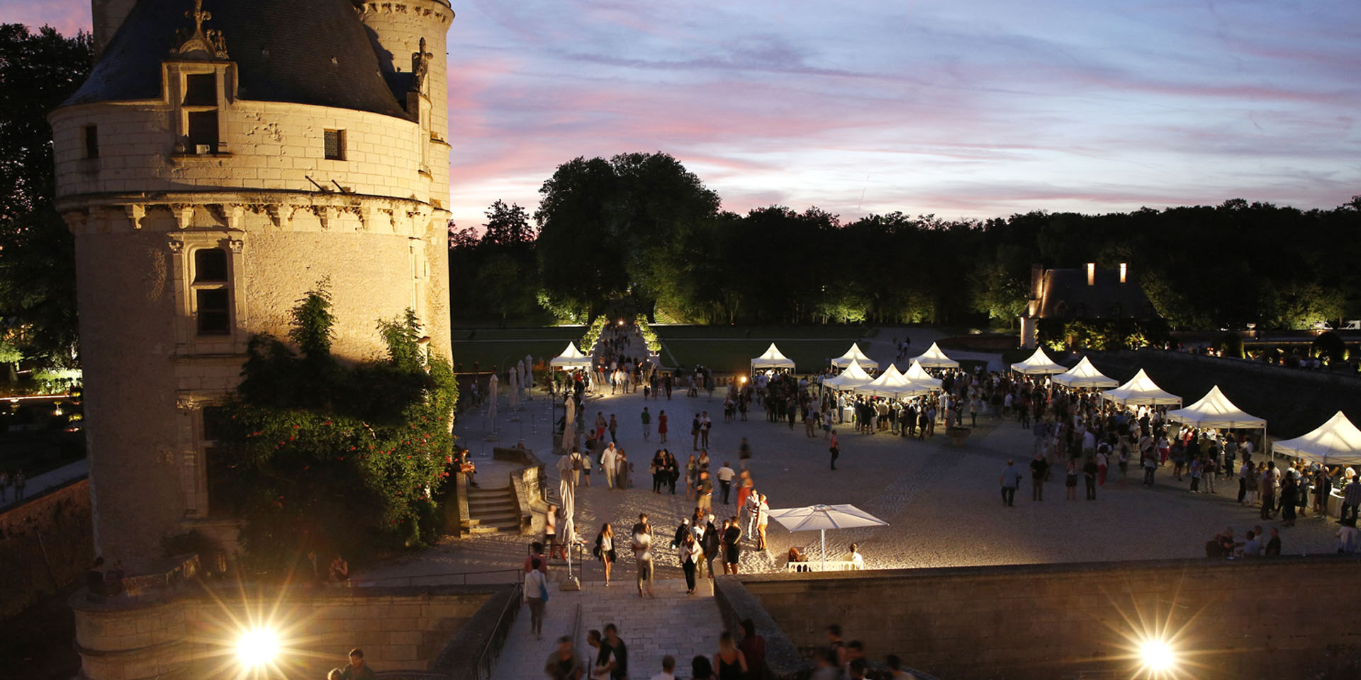 Wine tasting under the star - Château of Chenonceau