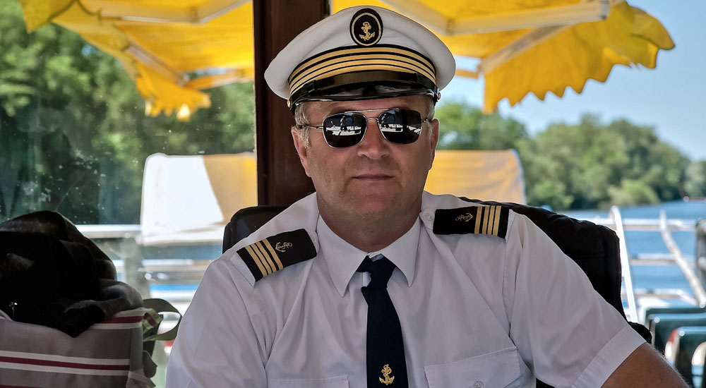 The Captain of La Belandre