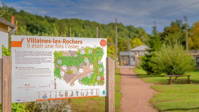Wickerwork interpretive trail - Villaines-les-Rochers - France