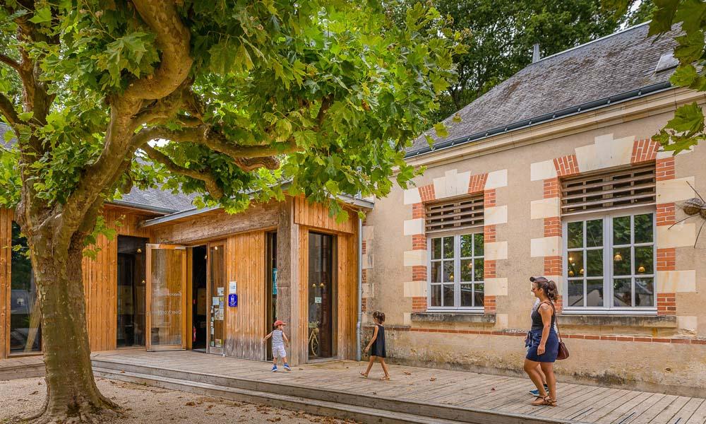 The wickerwork Cultural Centre - Villaines-les-Rochers, France.
