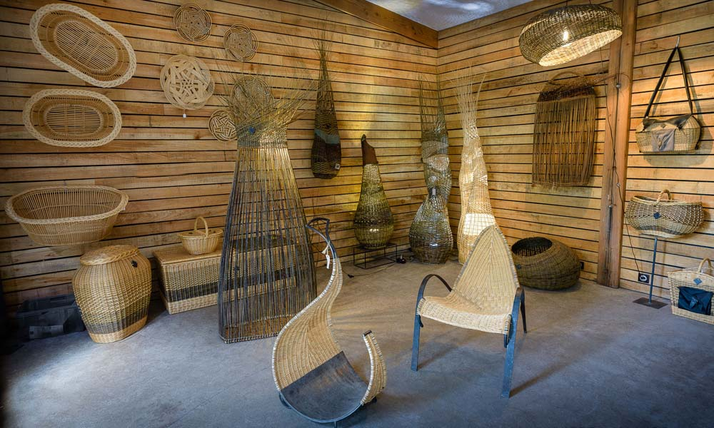 Wickerwork shop - Romand art