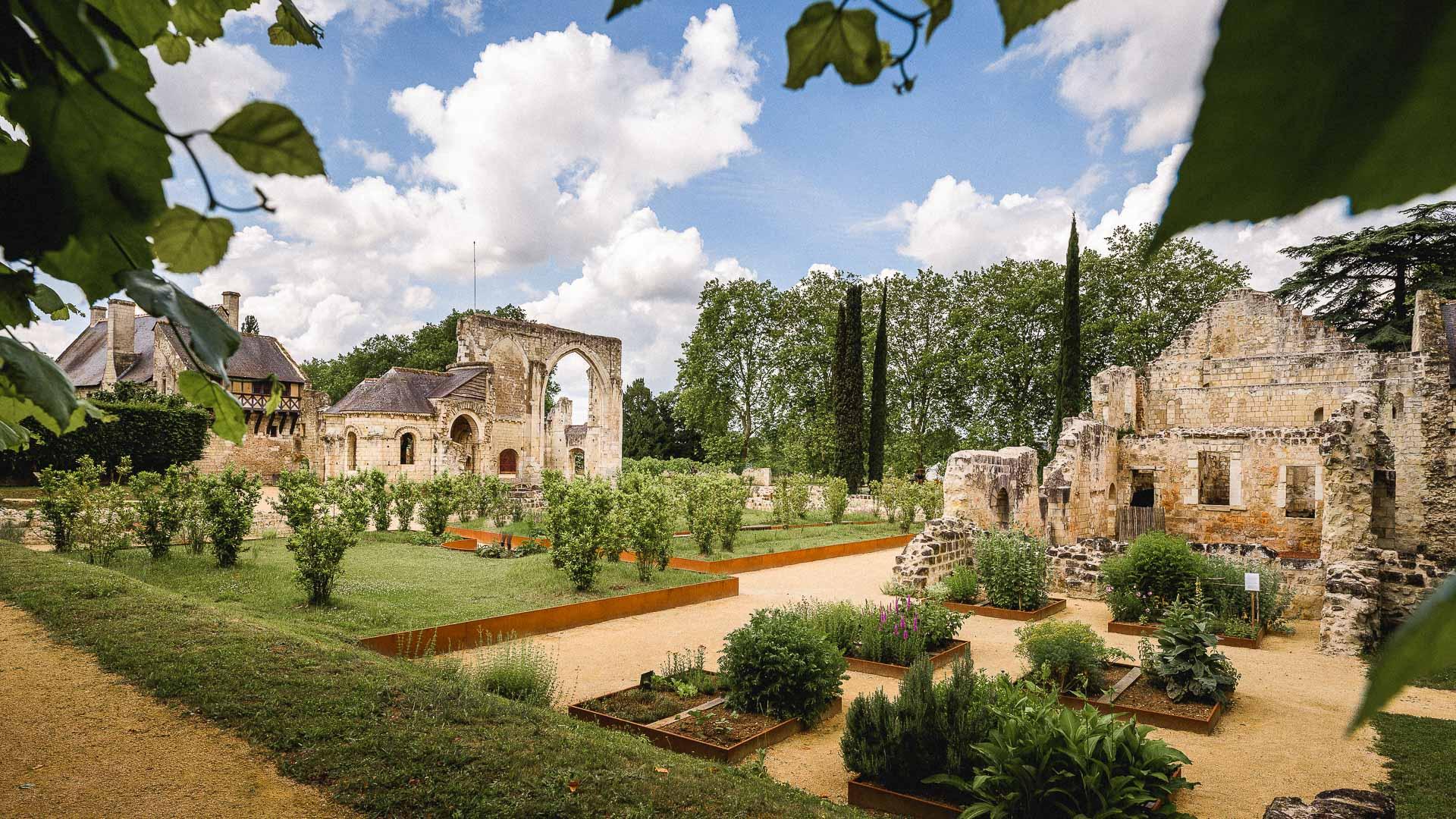 Gardens of Prieure Saint Cosme - La Riche