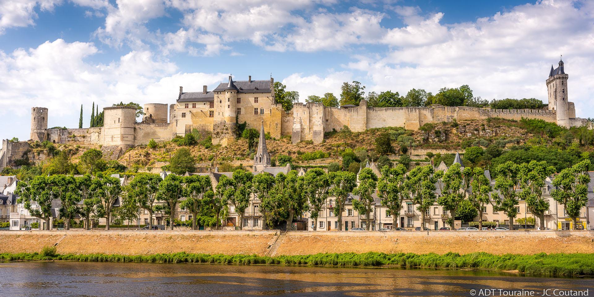 Royal fortress of Chinon