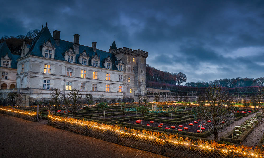 Christmas magic in the land of châteaux - Villandry