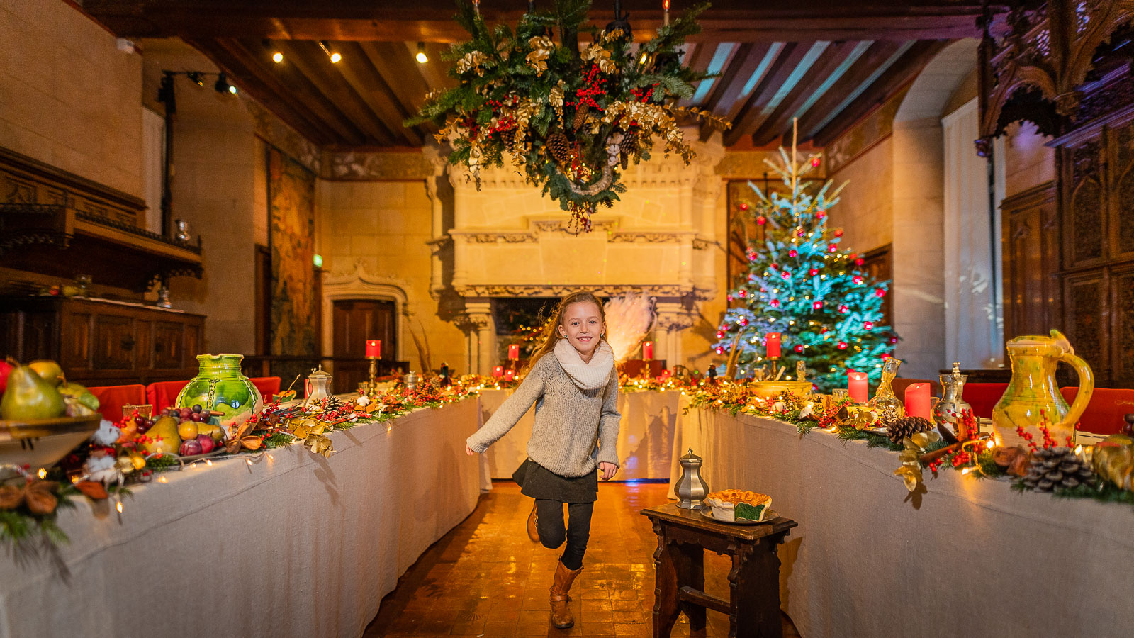 Christmas in the land of Chateaux - Langeais