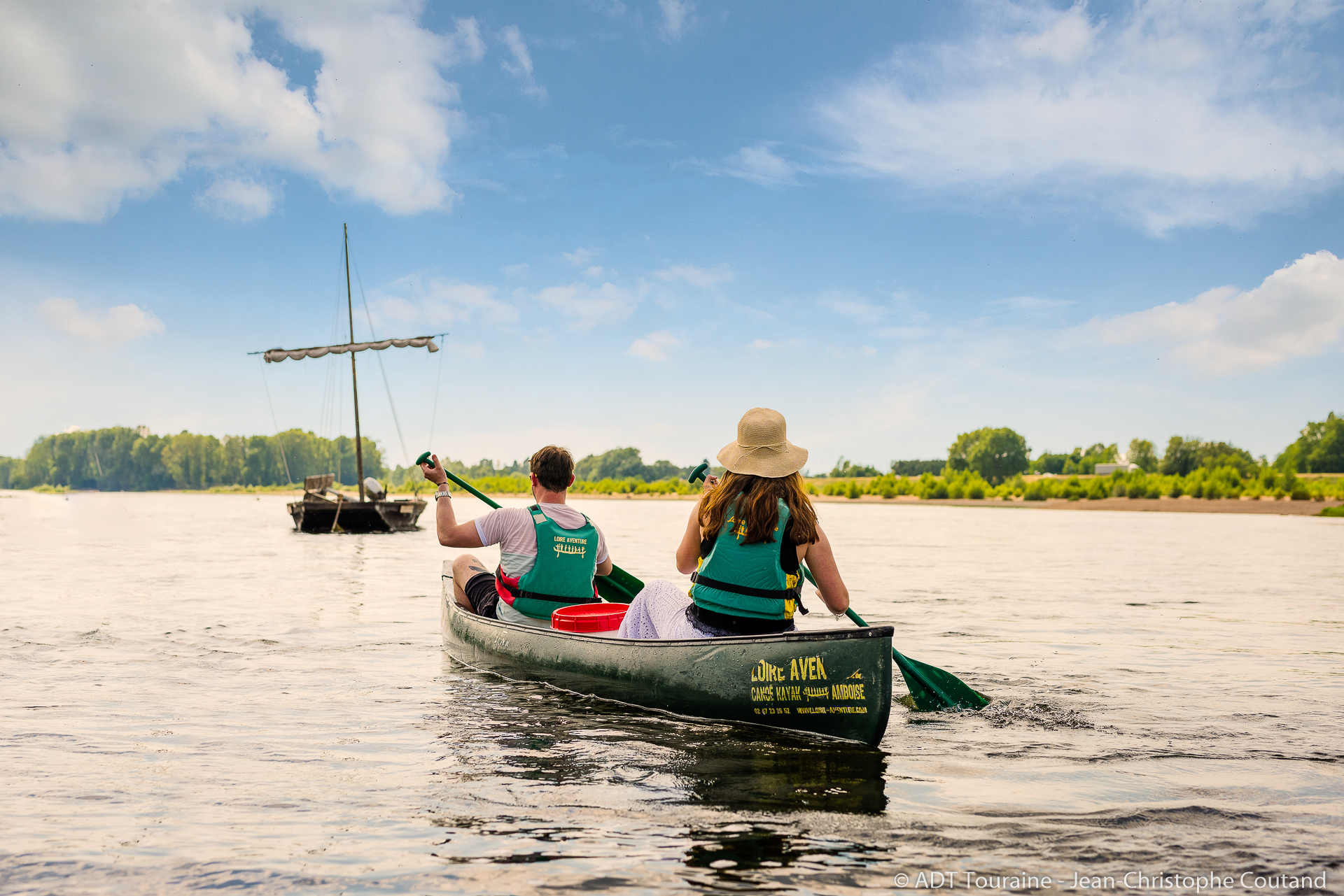 Canoeing & kayaking on the Loire