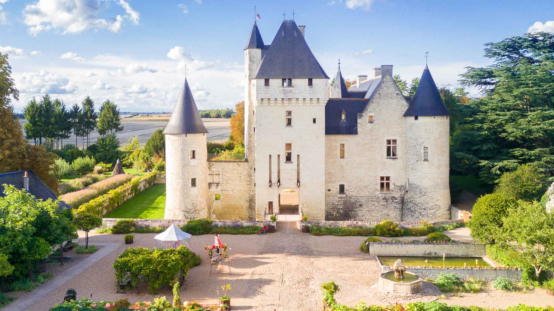 The Rivau Chateau and its gardens - Loire Valley
