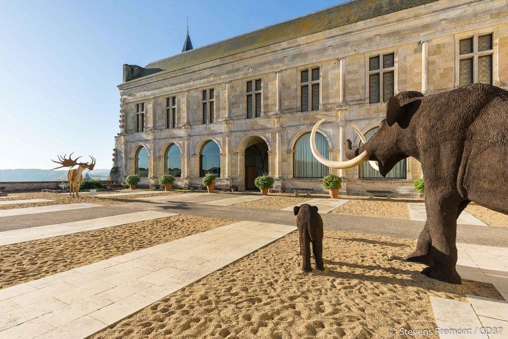 The prehistory museum of Le Grand-Pressigny