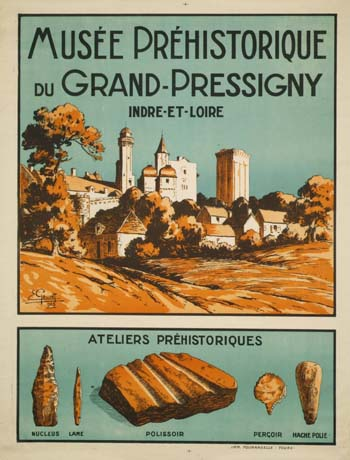 Prehistory museum of The Grand-Pressigny - Flint