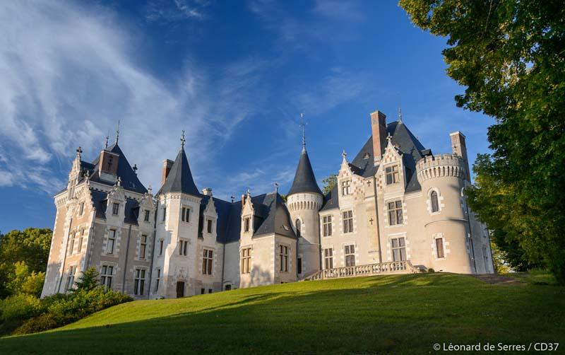 Domaine de Candé, Monts - Loire Valley, France.