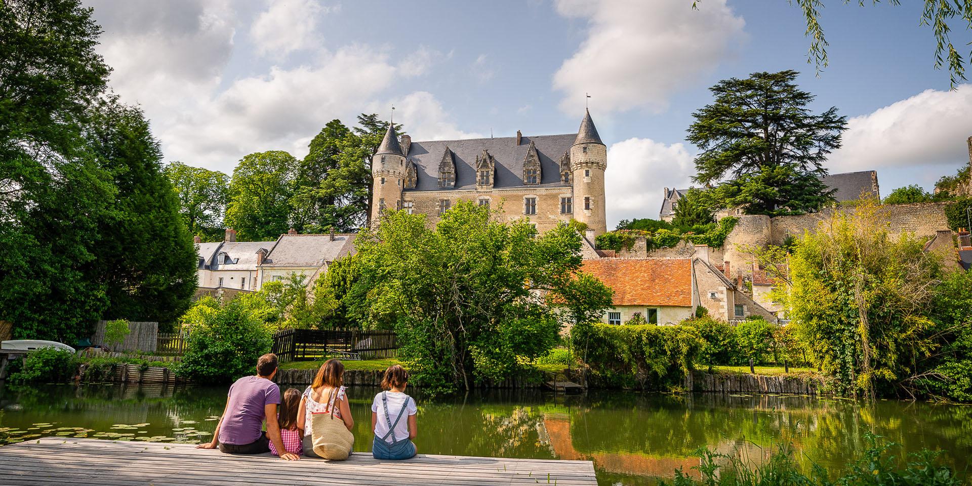 Montrésor - A beautiful french village - Loire Valley, France.