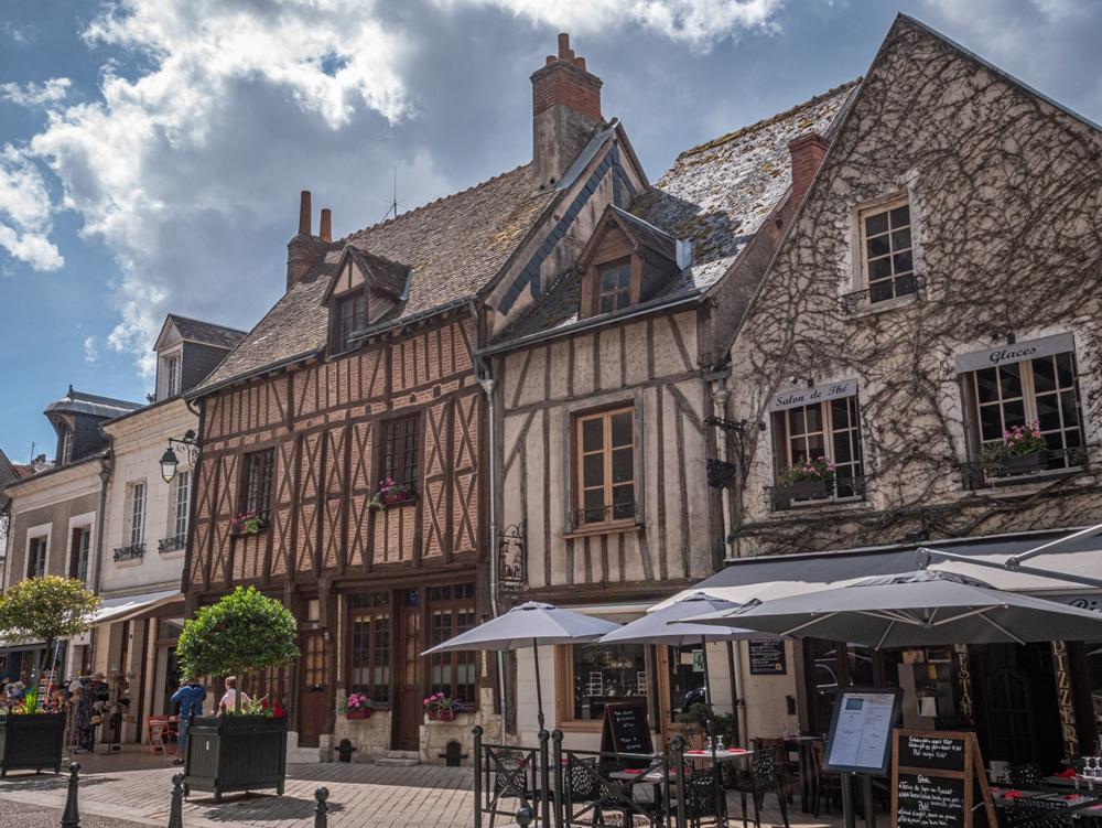 Timber-framed houses - Amboise