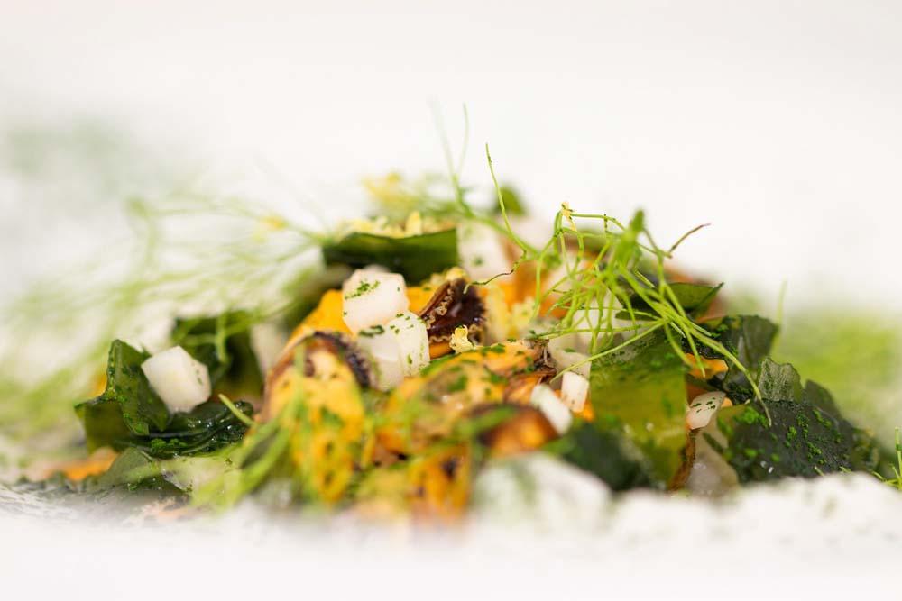 Savorous tasting in L'Opidom restaurant - Loire Valley.