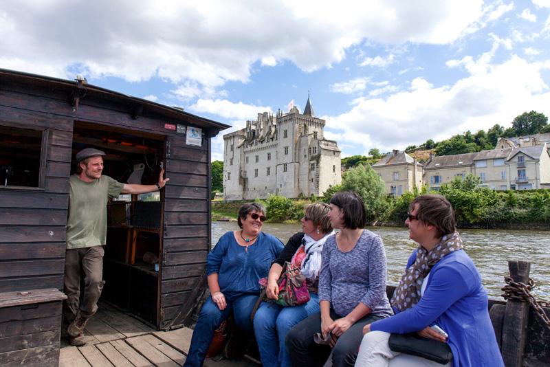PNR Loire-Anjou-Touraine - Boat tour, France.