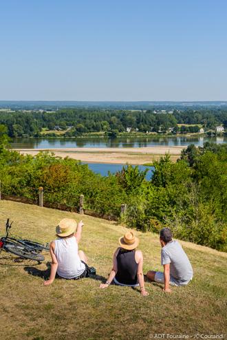 PNR Loire-Anjou-Touraine - Candes-Saint-Martin, France.