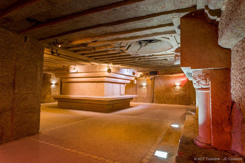 A troglodyte cellar