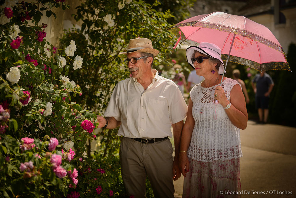 The Chédigny roses festival