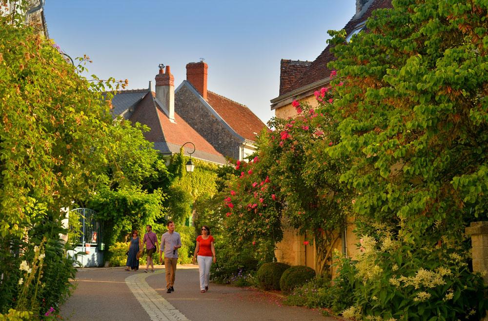 Chédigny roses, a very colourful village!