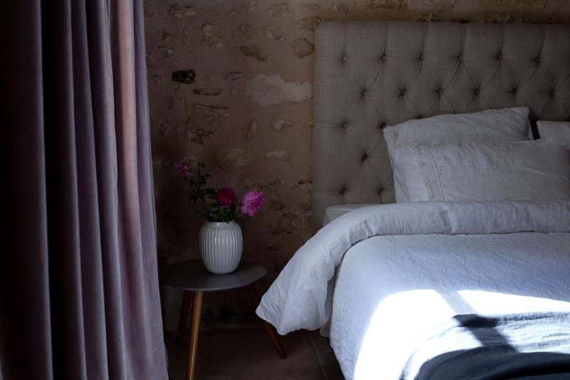 Le Moulin des Arts, at the waterside. Holidays in Loire Valley, France.