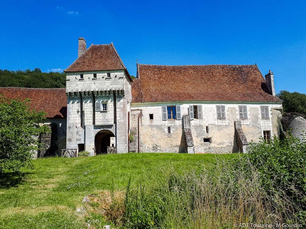 La Corroirie castle-monastery