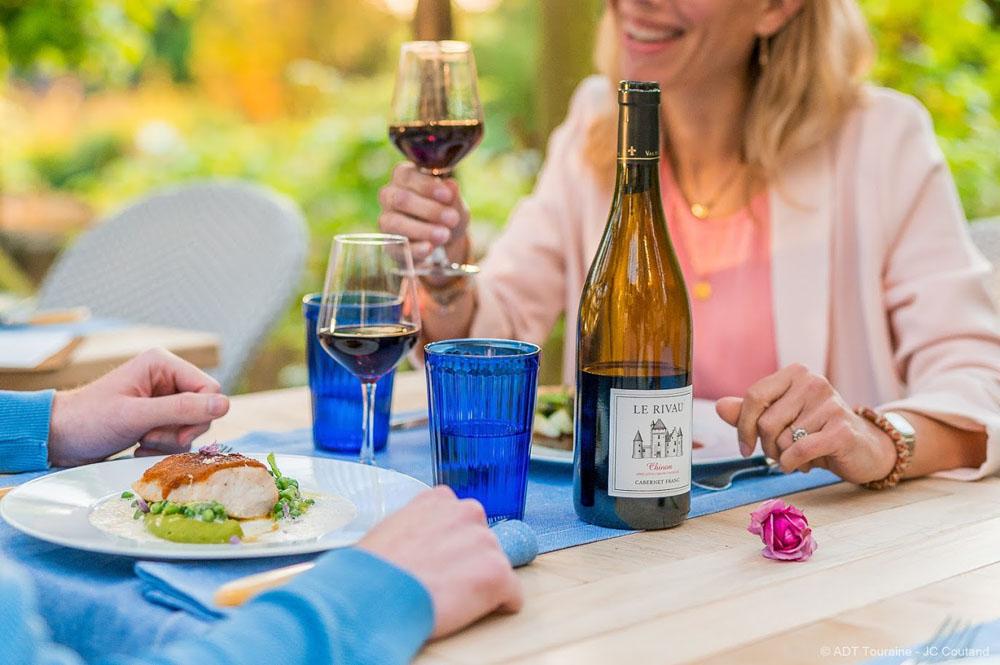Dining at the Jardin Secret