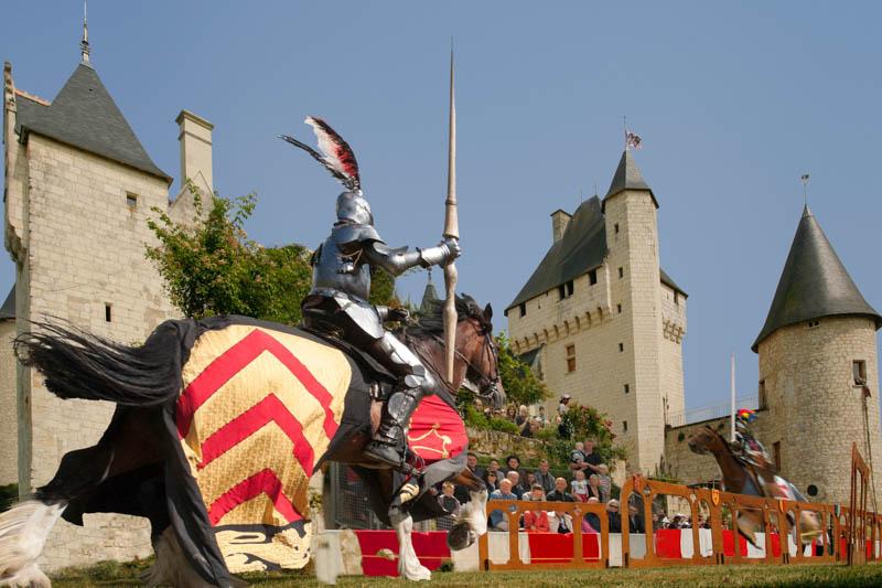 Joan of Arc - Horse of Le Rivau castle, France.