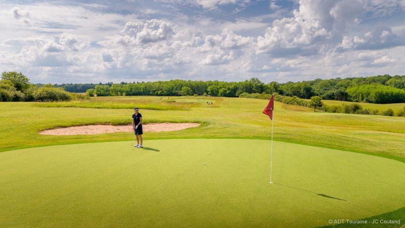 Golf Le Fleuray Amboise - Loire Valley, France.
