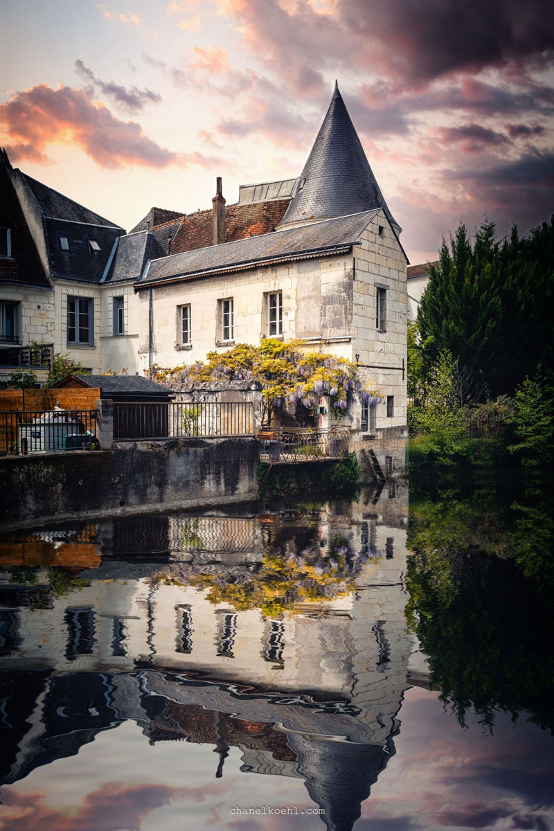 Loches, Loire Valley, France. Chanel Koehl.