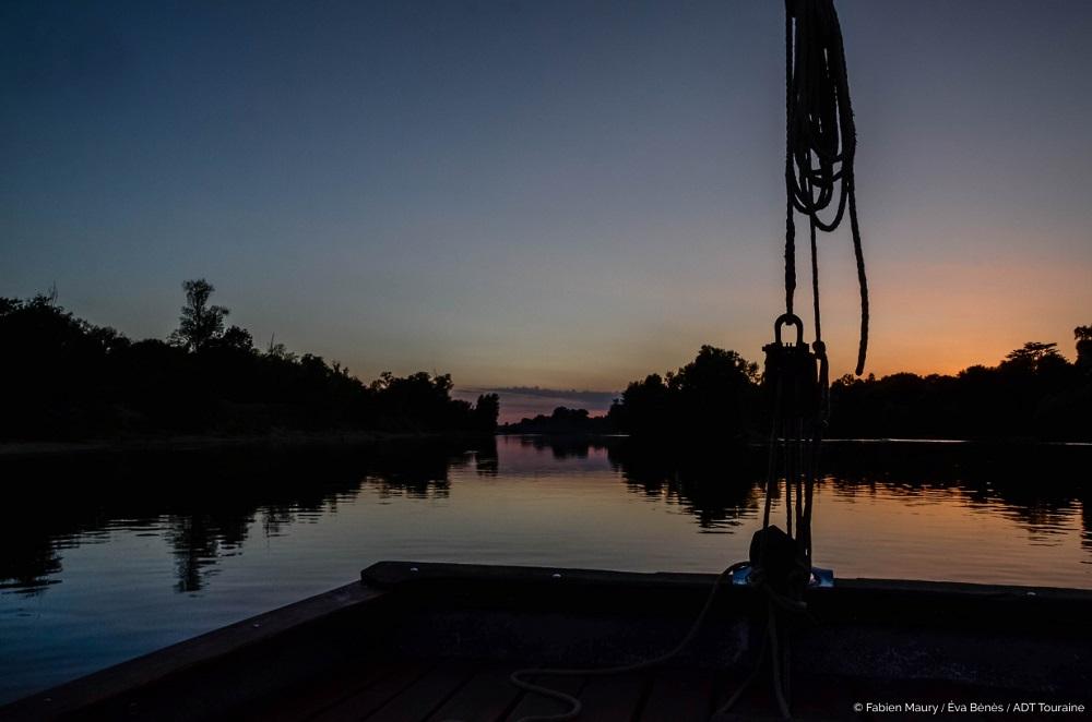 The Loire at dusk