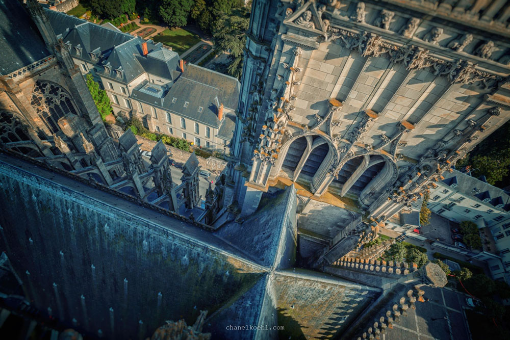 ...from Saint-Gatien cathedral